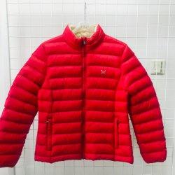 빨간 쉘 및  Bneige 안대기 여자의 오리 Down 가벼운 겨울 재킷