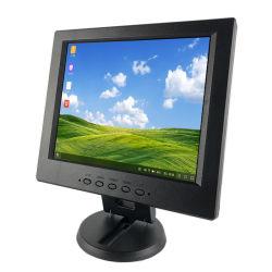 10.4 pulgadas de tamaño mini 4: 3HD de la plaza de Monitor LCD Monitor LED de 10,4 pulgadas con una entrada VGA.