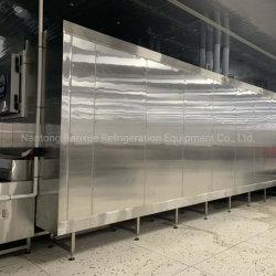 Настроенные на заводе быстрый IQF Blast туннеля морозильной камере для лова креветок/морепродукты и мясо/фрукты и овощи с маркировкой CE/ISO9001/SGS