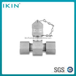 وصلات اختبار قارنة التوصيل الهيدروليكية Ikin Tee لفحص الضغط