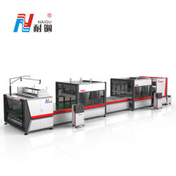 Ng-22 totalmente automático RS de compresión de colchón de rodadura y el ajuste de plegado de la máquina de embalaje Mattres