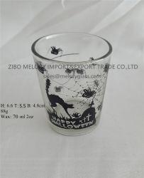 [2وز] [كندل هولدر] زجاجيّة مع ملصق مائيّ إنجاز لأنّ [هلّووين]