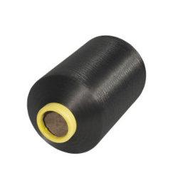 أفضل بيع المواد البوليستر DTY Yarn 75D/36F Dope DTY عدم الالتواء بعزم الدوران في الاتجاه FDY