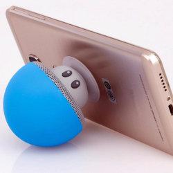 Cadeau promotionnel Mini haut-parleur sans fil Bluetooth avec support mobile