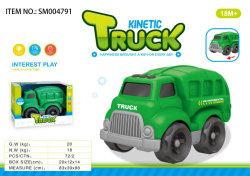 Venta caliente para la Educación juguetes de playa de la construcción de los Niños Los niños de dibujos animados de diapositivas de plástico juguetes camión modelo de coche
