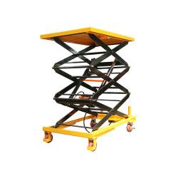 Baugerät-hydraulische bewegliche elektrische Scissor Aufzug
