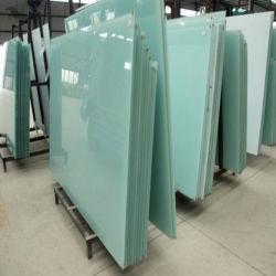 China Precio M2 Competitivo De Vidrio Templado Laminado Pará Horno Templado cristal de vidro laminado de 4mm e 5mm, 6mm a 8mm 10mm 12mm