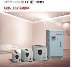 SDR светодиодный цифровой дисплей тип управления реле полностью автоматического стабилизатора напряжения сети переменного тока регулятора давления топлива