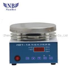 デジタルステンレス鋼の物質的な熱い版の磁気スターラー