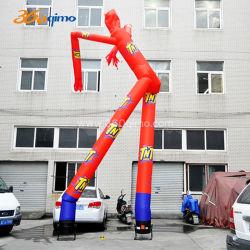 Publicidade dos desenhos animados personalizados dançando no céu insuflável vento dançarino dançarino de Ar