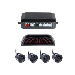 Pantalla LED Automóvil Parkmaster 4los radares de aparcamiento Parktronic //Alarma/sensores de aparcamiento