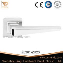 Maniglia di leva del bicromato di potassio dell'argento della serratura del hardware del portello della mobilia del portello di entrata (z6361-zr23)