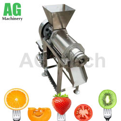 La prensa de tornillo de acero inoxidable fruto exprimidor licuadora Industrial Máquina extractora