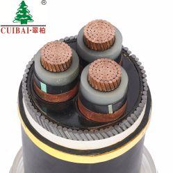 De Gebruikte XLPE Geïsoleerdef pvc In de schede gestoken Gepantserde Kabel van de spoorweg/Van de Krachtcentrale
