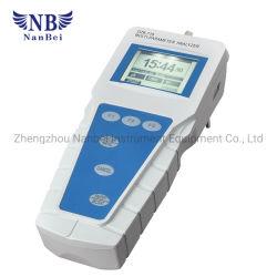 Het Meetapparaat van het Water van de Analysator van de Kwaliteit van het Water van de multiparameter voor pH Orp Geleidingsvermogen Resitivity TDS doet Temperaturen