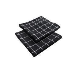 100%хлопок блюдо салфетки из хлопка Checker тканого полотенца