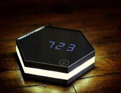 Orologio da tavolo digitale con specchio LED con logo OEM