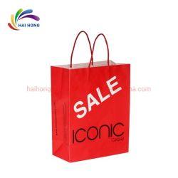 Imprimé personnalisé de haute qualité du papier kraft Shopping Sacs à main