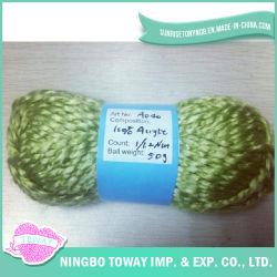 기술 모직 털실 (lana)를 뜨개질을 하는 길쌈 가벼운 외관 장갑