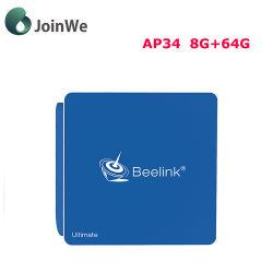 Beelink Ap34 8G Win10 프로세서 N3450 8 + 64G Android TV 박스