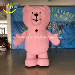 Mignon ours mascotte Costume gonflable
