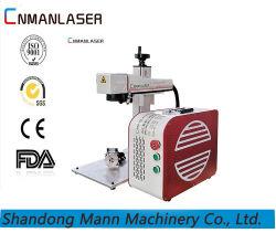 5 Jahre Warranty10With 20With 30With 50W Faser-Laser-Markierungs-/Gravierfräsmaschine für Metallstahlgoldsilber-Fassbinder