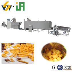 Bouffée d'aliments de collation de la machine de l'extrudeuse de maïs de l'extrudeuse à double vis/snack-extrudeuse en provenance de Chine le maïs soufflé des collations en usine de fabrication usine de la Machine Extrudeuse