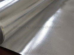 De geweven Isolatie van de Hitte van de Doek van de Isolatie van de Stof Materiële Aluminiumfolie Geweven