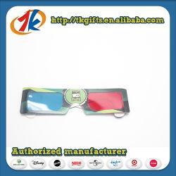 Óculos 3D promocionais Vermelho Azul Copos para vendas