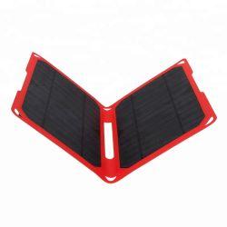 Solar-Handy-Computer-Batterieleistung-Bank-faltbare Panel-Aufladeeinheit USB-14W bewegliche am besten