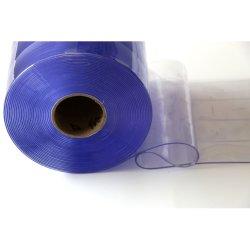 La poussière de couleur claire rideau PVC baguette de porte