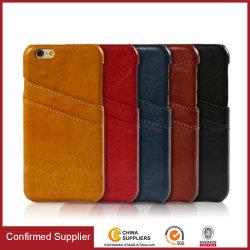 Hochwertige Telefontasche aus PU-Leder mit Kartenschlitzen für iPhone 8