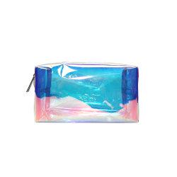 Sacchetto cosmetico portatile del PVC del laser (YSZQ201904-4)