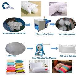 L'oreiller en coton PP automatique canapé faire boule de la machine d'empotage de fibre de machine de remplissage à coussin d'oreiller