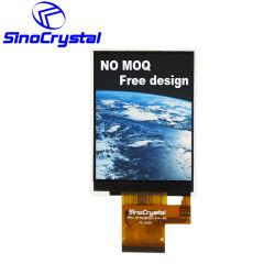 2,8-дюймовый цветной TFT с диагональю 240x320 40FPC контакт Qvga 16 разрядных MCU ST7789V ЖК-дисплей экран модуля