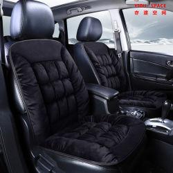 Comercio al por mayor invierno más gruesa hacia abajo de la felpa de Algodón Auto Cojín de asiento para calentar y software.
