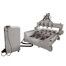 ルーター機械を切り分ける3D木CNC