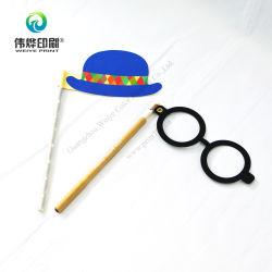 안경 및 모자 파티 용품 Props 인쇄 마스크 장식