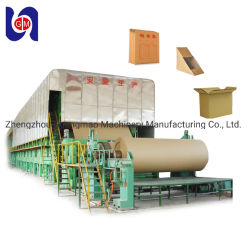 2880mm Automatic Corrugated Paper Fluting Kraftpapier Paper Making Machines From Old Carton Box