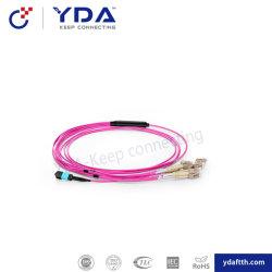 Equipamento de comunicação Sm/mm sc/LC/FC/St APC/UPC fiber optic patch de Alimentação