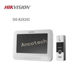 Hikvision coloré de 7 pouces TFT LCD interphone vidéo Door Phone (DS-KIS202)
