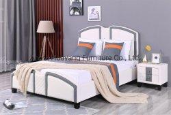 Moderne Hotel-Bett-Schlafzimmer-Bett-doppeltes Bett-Wohnzimmer-Möbel