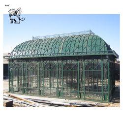 中国Manufaturerの庭の装飾用の屋外の旧式な錬鉄の鋳造物の望楼