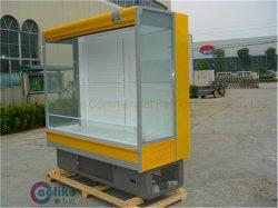 Shopping Auto-Defrost Plug-in Frontal Aberta geladeira com grande volume&Aprovação ETL