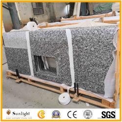 Opgepoetste van het Overzeese van de Nevel Witte Countertop Graniet van de Golf Witte voor Keuken of Badkamers