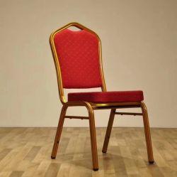 Venda por grosso de mobiliário Hotel Barato Restaurante Banquetes Cadeira de Jantar Uesd Cadeira empilhável
