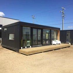 80m2 Casa Prefabricada 2bedroom Modulaire Huizen van de Villa's van de Verschepende Container van de Huizen van de Luxe van de Badkamers van de Keuken Zonne Moderne