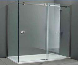 공장 도매 SS304 목욕탕 유리제 문 기계설비