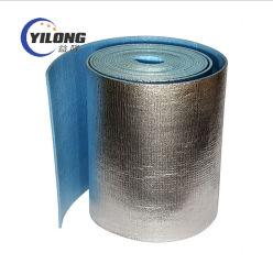 Isolamento termico di Reflectiv di calore di alluminio della gomma piuma riflettente resistente al fuoco del per tetto d'acciaio