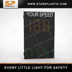交通安全の速度表示器装置